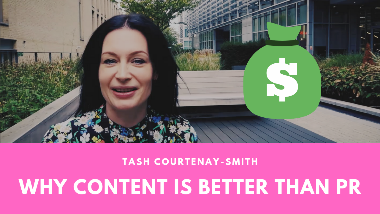 Why creating content is better than PR