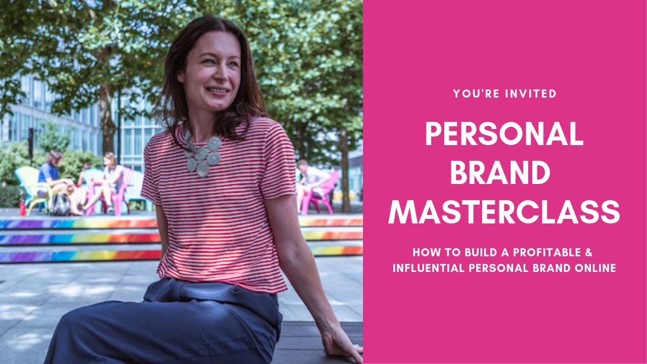 Personal Branding Masterclass 28th February